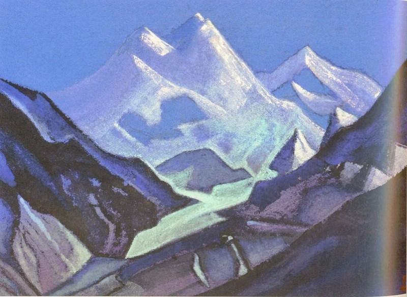 The Himalayas (Shining Heights). Roerich N.K. (Part 5)