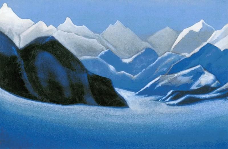 Vertices # 27 Himalaya (Snowy peaks). Roerich N.K. (Part 5)