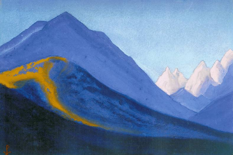 The Himalayas # 125 The Secret World of Snows. Roerich N.K. (Part 5)