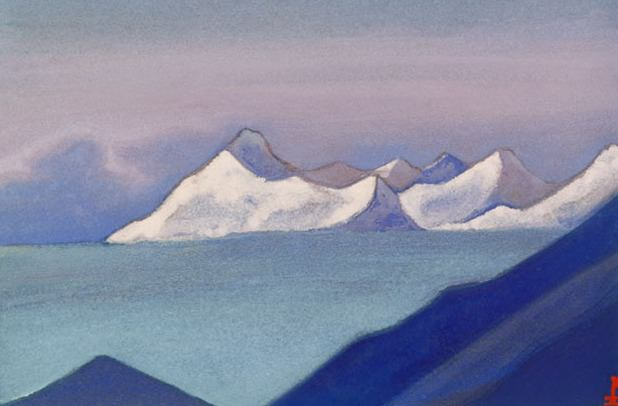 Ladak Ladak # 92 (there of mists). Roerich N.K. (Part 5)