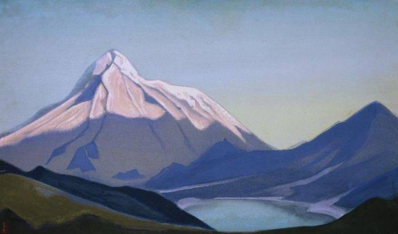Tibet (morning). Roerich N.K. (Part 5)