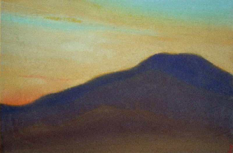 Evening evening # 31 (setting sun). Roerich N.K. (Part 5)