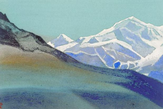 Himalayas # 83 Sleeping giant. Roerich N.K. (Part 5)