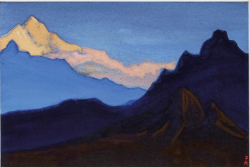 Himalayas # 43. Roerich N.K. (Part 5)