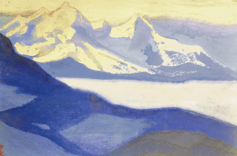 Гималаи #52 Высокогорное озеро. Рерих Н.К. (Часть 5)