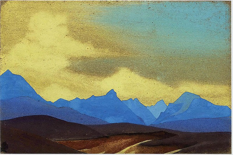 The Himalayas # 15. Roerich N.K. (Part 5)