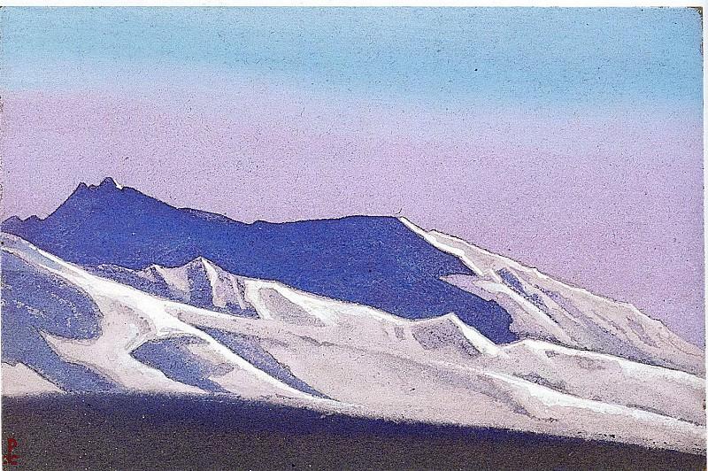 Гималаи #207 Белое облачко. Roerich N.K. (Part 5)