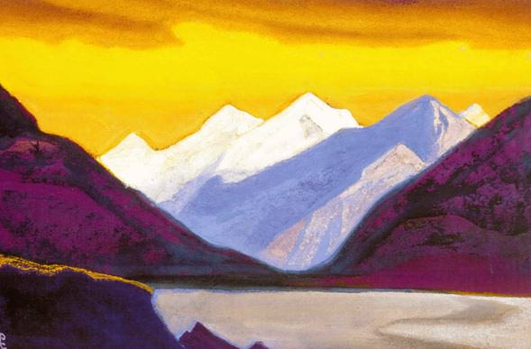 The Himalayas # 69 Creativity of the Light. Roerich N.K. (Part 5)