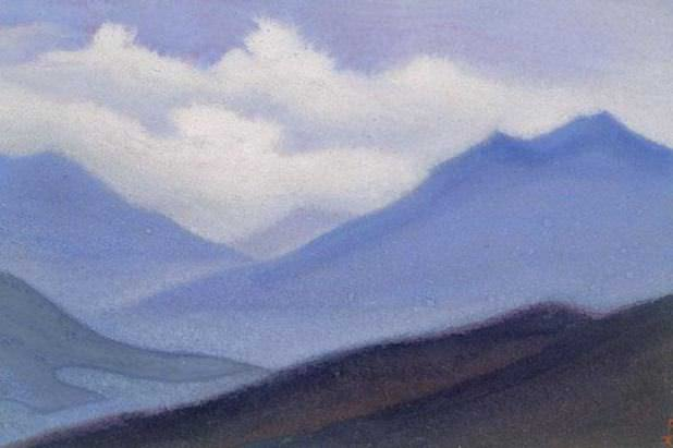 Mists Mists # 80 (Terrestrial and overhead). Roerich N.K. (Part 5)