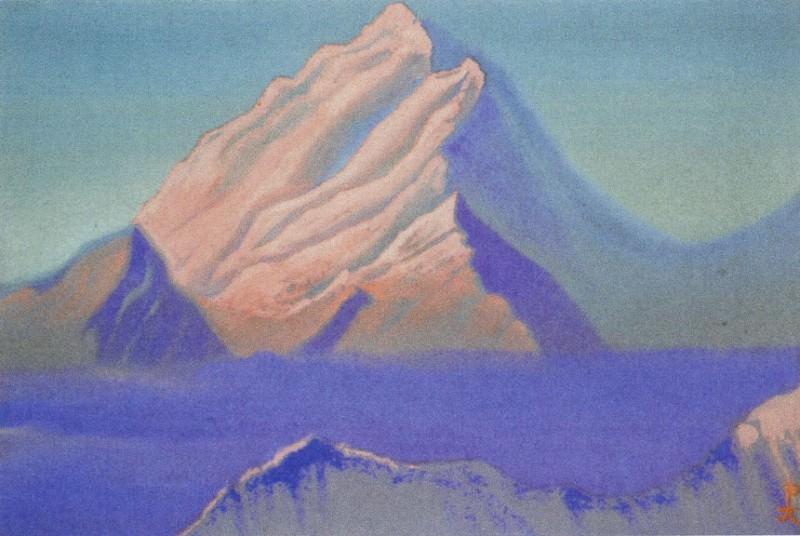 Гималаи #151 Розовый пик. Рерих Н.К. (Часть 5)