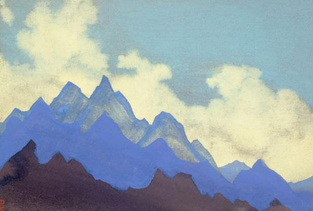 The Himalayas # 17 Crown of the Earth. Roerich N.K. (Part 5)