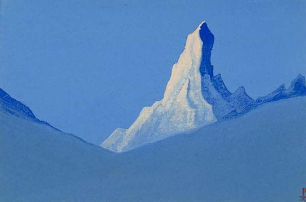 Mountain Mountain # 8 (B loneliness). Roerich N.K. (Part 5)