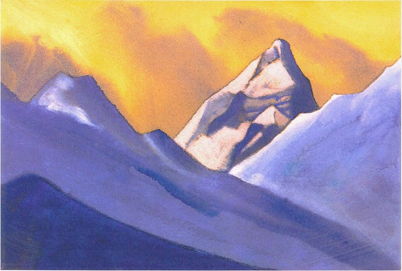 The Himalayas # 129. Roerich N.K. (Part 5)