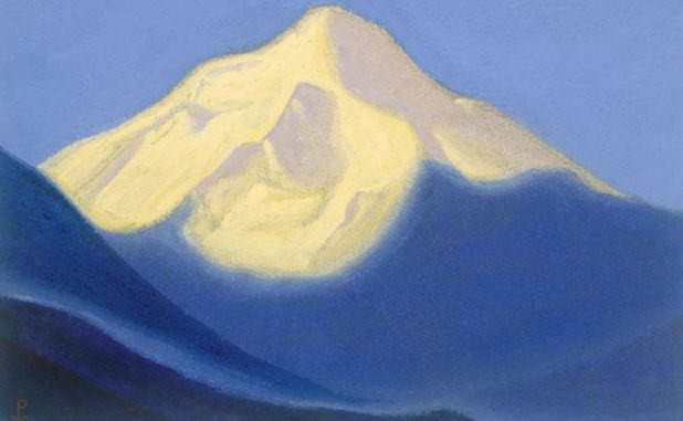 Vertex # 81 Top (Snow cap). Roerich N.K. (Part 5)