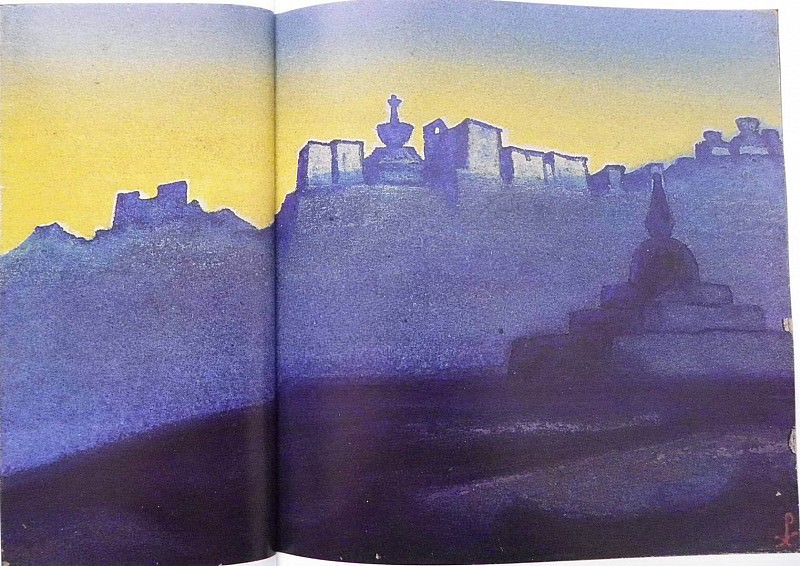 Ladakh (Kashmir). Roerich N.K. (Part 5)