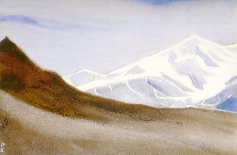 The Himalayas # 106 Icy Silence. Roerich N.K. (Part 5)