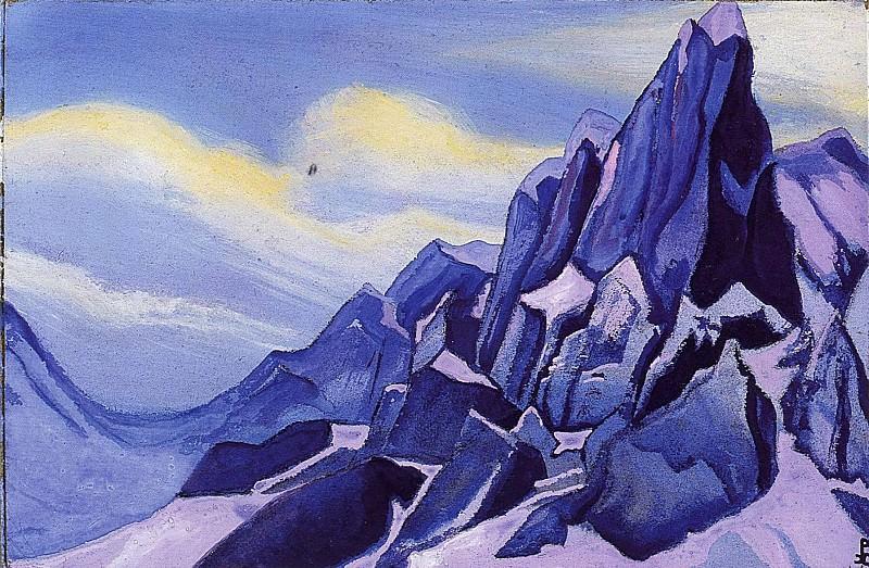 The Himalayas (Tanggu). Roerich N.K. (Part 5)
