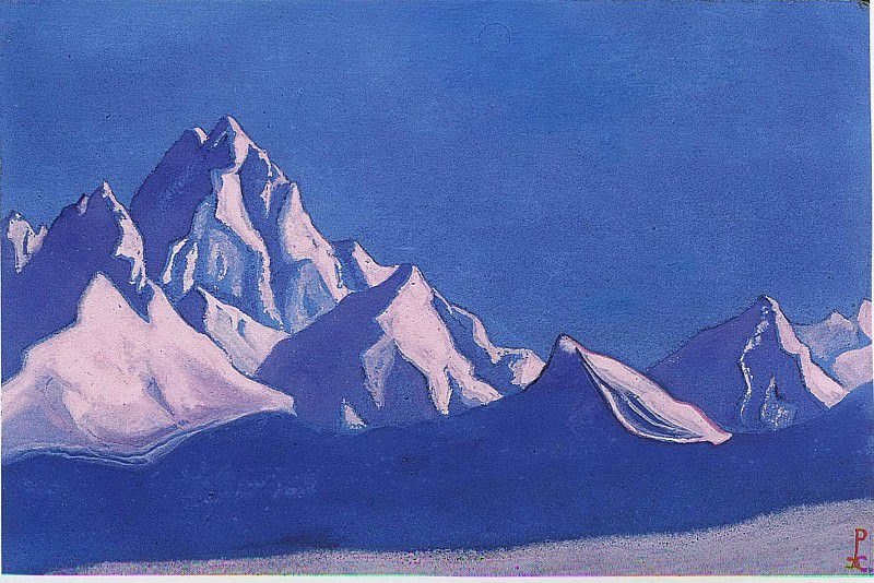 The Himalayas # 127. Roerich N.K. (Part 5)