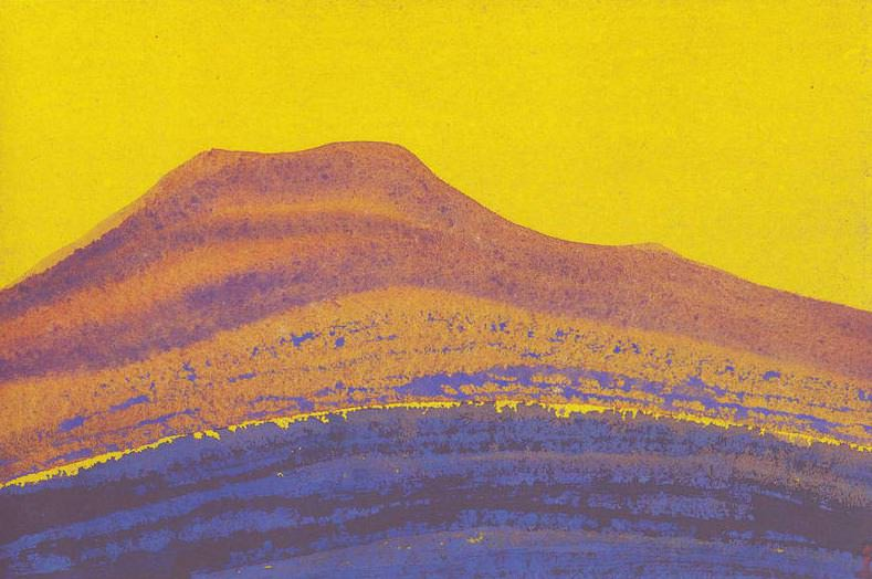 The Himalayas # 6 Table Mountain. Roerich N.K. (Part 5)