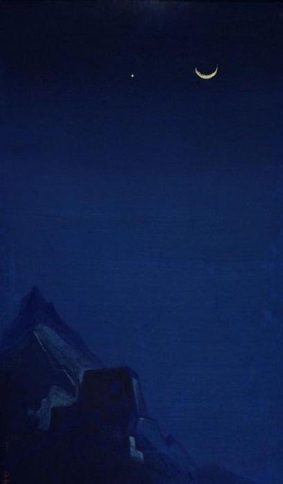 Night. Moon (Spell). Roerich N.K. (Part 5)