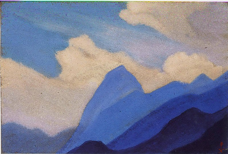 Cloud. Roerich N.K. (Part 5)
