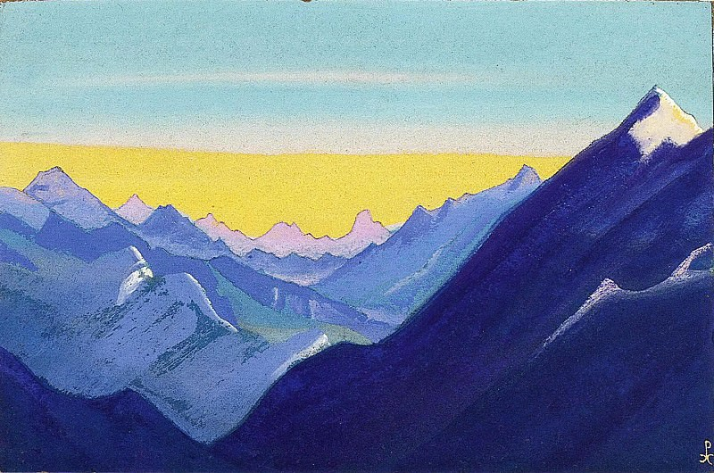The Himalayas # 16. Roerich N.K. (Part 5)