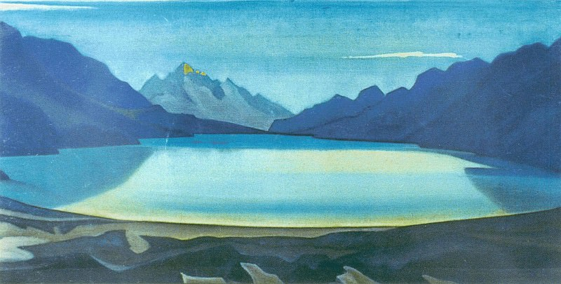 The Himalayas # 22. Roerich N.K. (Part 5)