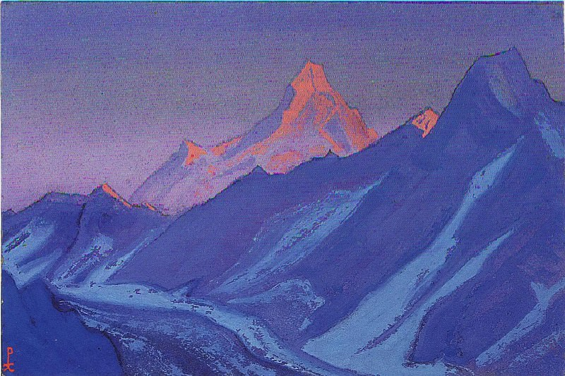 The Himalayas # 25. Roerich N.K. (Part 5)