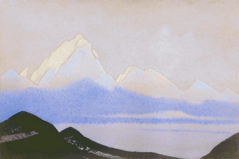 The Himalayas # 56 Earthly and heavenly. Roerich N.K. (Part 5)
