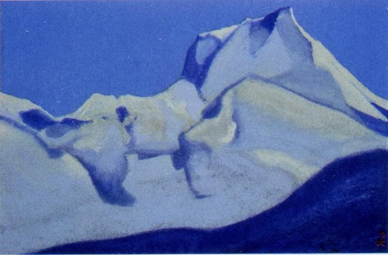 Гималаи #40 Вершины в предрассветной синеве. Рерих Н.К. (Часть 5)