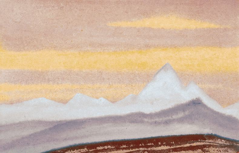 The Himalayas # 4 The Celestial Silence. Roerich N.K. (Part 5)