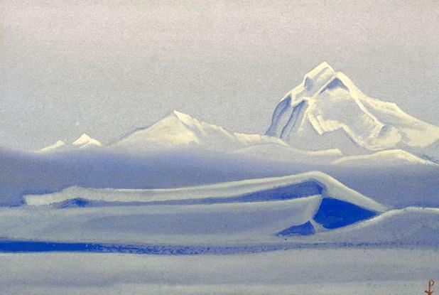 Тибет #86 Тибет (Безмолвие). Рерих Н.К. (Часть 5)