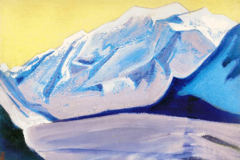 The Himalayas # 49 The Eternal Ice. Roerich N.K. (Part 5)