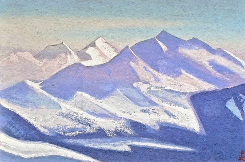 Himalayas # 77 mountainous country. Roerich N.K. (Part 5)