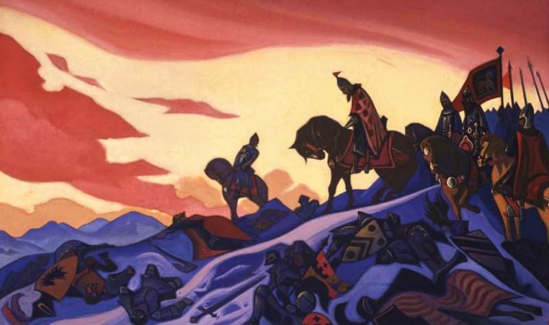 Alexander Nevsky # 31 Alexander Nevsky (Russian War). Roerich N.K. (Part 5)