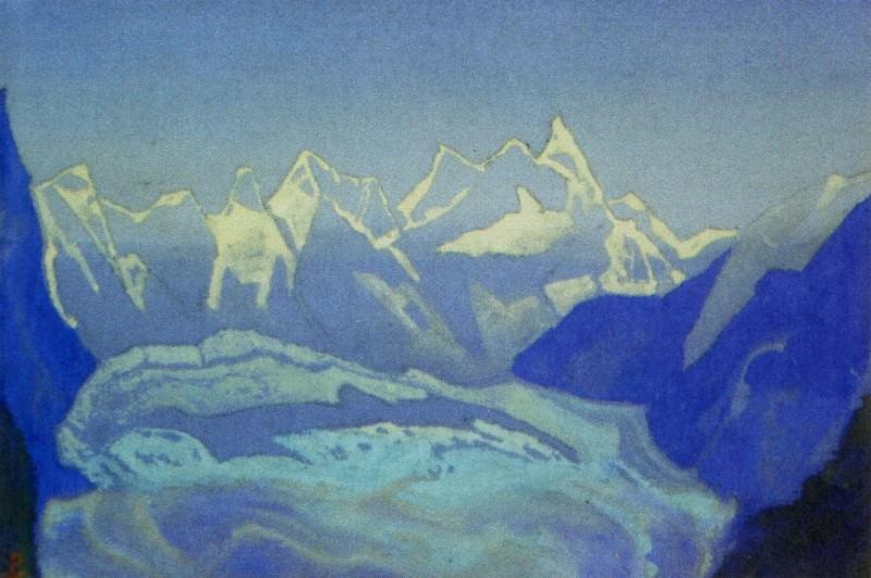 Glacier # 103. Roerich N.K. (Part 5)