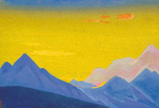 Гималаи #38 Видение синих пиков. Рерих Н.К. (Часть 5)