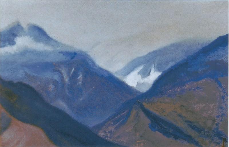 Kuluta # 163 Kuluta (Gorge). Roerich N.K. (Part 5)