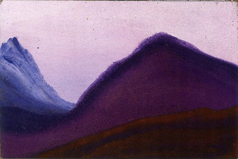 The Himalayas # 42. Roerich N.K. (Part 5)