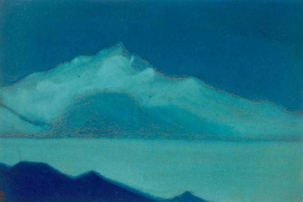 Rest (sketch) # 28 (Rest. Sketch). Roerich N.K. (Part 5)