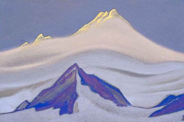 Гималаи #116 Солнечная вершина. Рерих Н.К. (Часть 5)