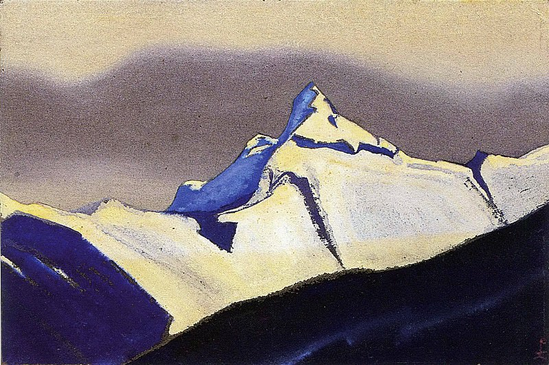 The Himalayas # 105. Roerich N.K. (Part 5)