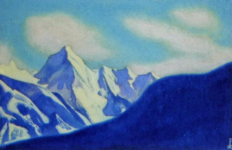 Гималаи #121 Снежный хребет. Рерих Н.К. (Часть 5)