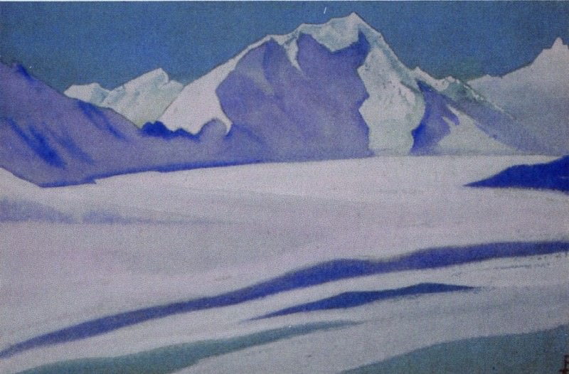 Himalayas # 62 Glacier. Roerich N.K. (Part 5)