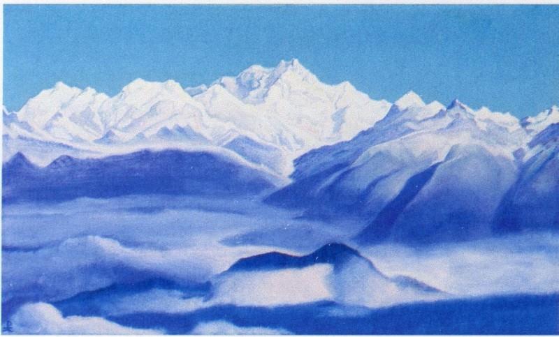 Гималаи #48 Голубые горы. Рерих Н.К. (Часть 5)