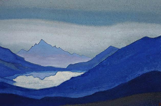Горное озеро. Рерих Н.К. (Часть 5)