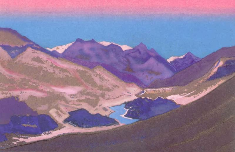 The Himalayas # 149. Roerich N.K. (Part 5)