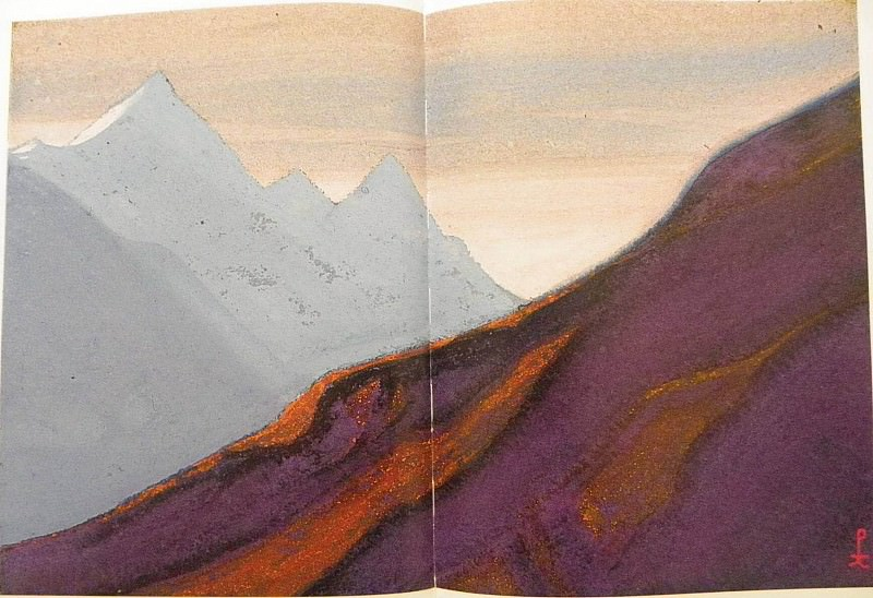 The Himalayas # 36. Roerich N.K. (Part 5)