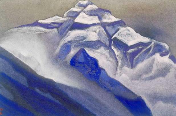 Himalayas # 91 Steps ascent. Roerich N.K. (Part 5)
