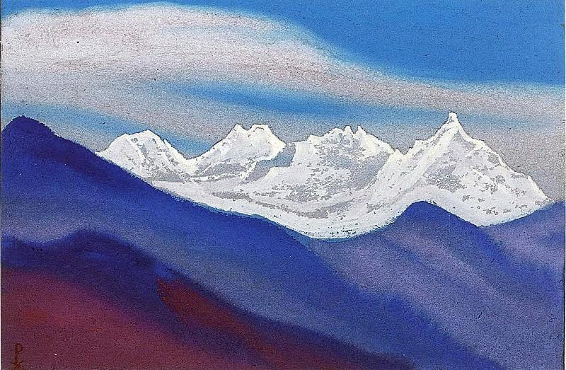 Himalayas # 55. Roerich N.K. (Part 5)